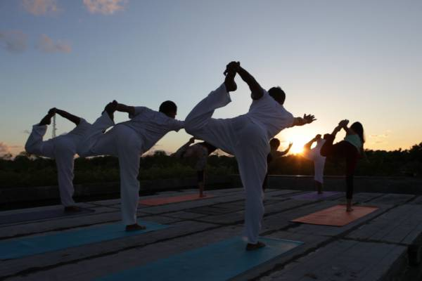 Rooftop Sunset Yoga